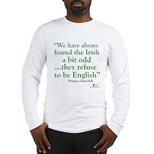 Churchill And The Irish Long Sleeve T-Shirt