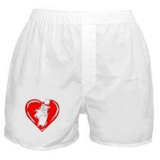 Love Dog Boxer Shorts