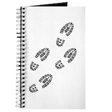 Shoe tracks - Footprint Journal