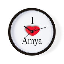 Amya Wall Clock