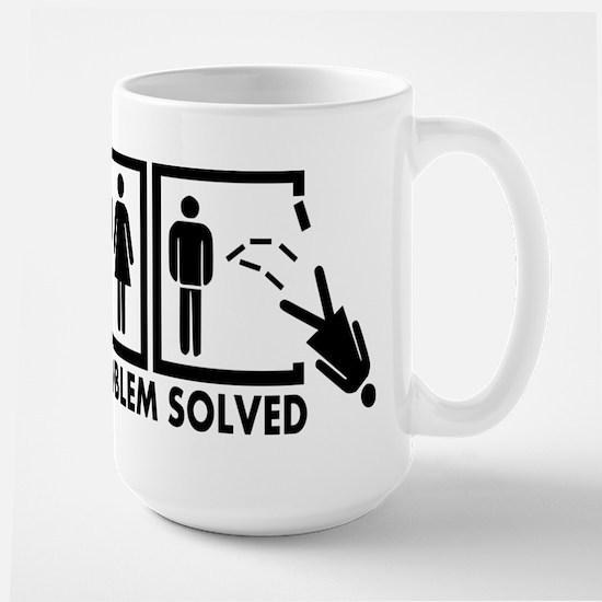 Problem solved - Woman Large Mug