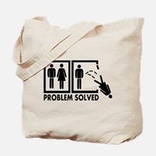 Problem solved - Woman Tote Bag