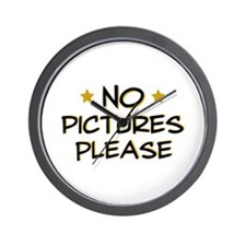 No pictures please - Photo Wall Clock