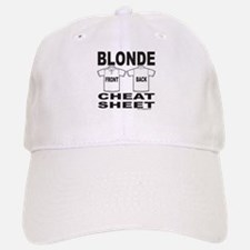 BLONDE CHEAT SHEET Baseball Baseball Cap