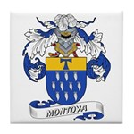 Montoya Coat of Arms Tile Coaster