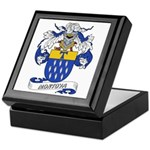 Montoya Coat of Arms Keepsake Box
