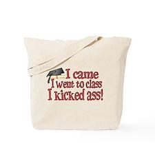 Kicked Ass Graduate Tote Bag