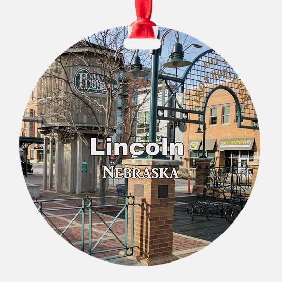 Lincoln Nebraska Ornament