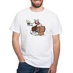 Hagar and Keg White T-Shirt