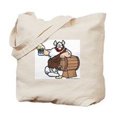 Hagar and Keg Tote Bag