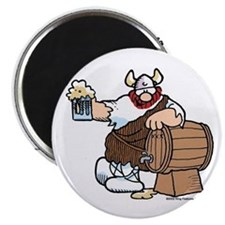 Hagar and Keg Magnet