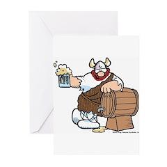 Hagar and Keg Greeting Cards (Pk of 10)