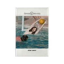 Jesus Saves-Water Polo Rectangle Magnet
