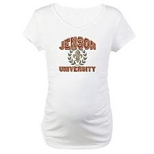 Jenson Last Name University Shirt