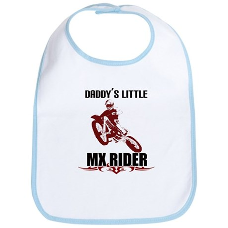 Daddy's Little Rider Bib