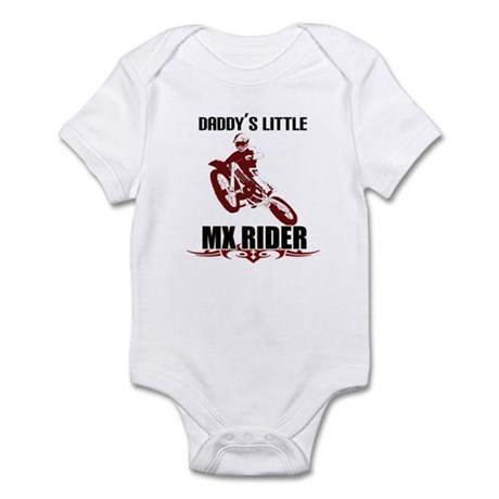 Daddy's Little Rider Infant Bodysuit