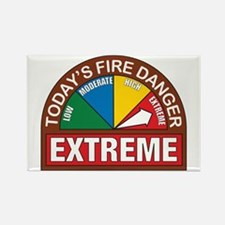 Wildland Fire Rectangle Magnet
