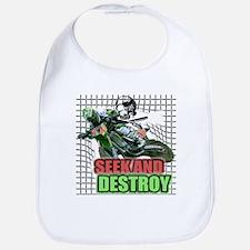 Seek and Destroy Bib