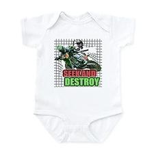 Seek and Destroy Infant Bodysuit