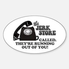 the Jerk Store Seinfeld Oval Decal