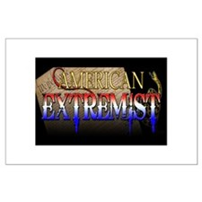 American Extremist Large Poster