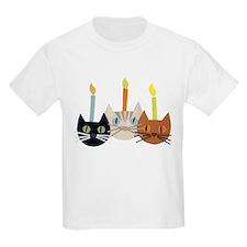 Birthday Cats T-Shirt