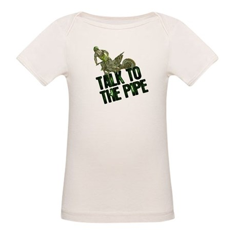 Talk to the pipe Organic Baby T-Shirt