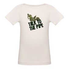 Talk to the pipe Tee