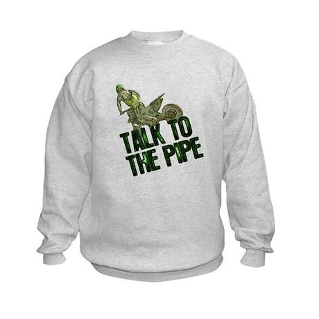 Talk to the pipe Kids Sweatshirt