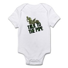 Talk to the pipe Infant Bodysuit
