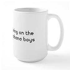 Bring on the Cabana Boys Flamingo Mug