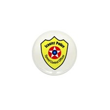 Scooter Police Mini Button (10 pack)