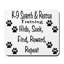 K-9 SAR Mousepad
