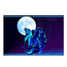 Fantasy Wolf Postcards (Package of 8)