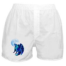 Fantasy Wolf Boxer Shorts