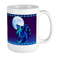 Fantasy Wolf Ceramic Mugs