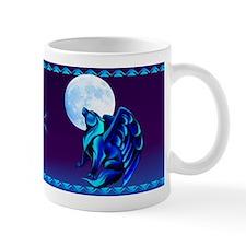 Fantasy Wolf Small Mug