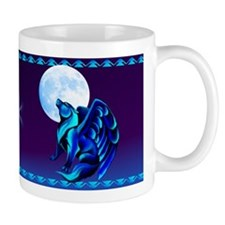 Fantasy Wolf Small Mugs