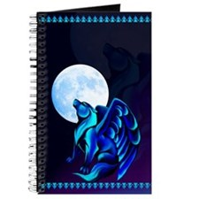 Fantasy Wolf Journal