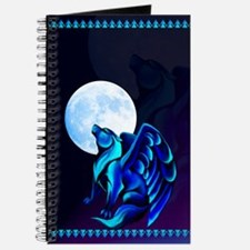 Fantasy Wolf Journal