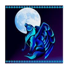 Fantasy Wolf Tile Coaster
