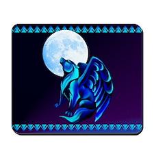 Fantasy Wolf Mousepad