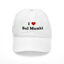 I Love Sol Munki Baseball Cap
