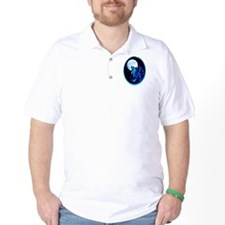 Fantasy Wolf framed T-Shirt