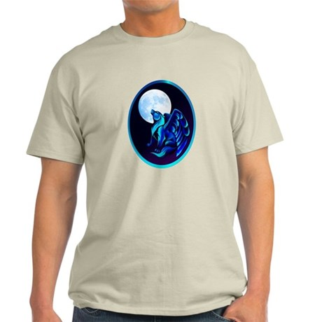 Fantasy Wolf framed Light T-Shirt