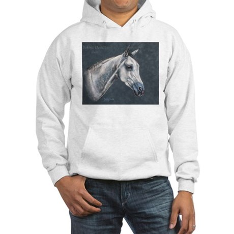 Grey Arabian Hooded Sweatshirt