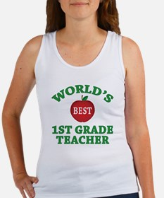 1st Grade Teacher Women's Tank Top