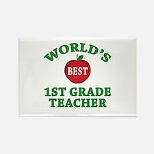 1st Grade Teacher Rectangle Magnet