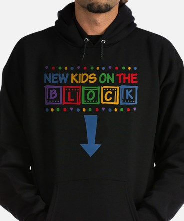 New Kids on the Block Mom Hoodie (dark)