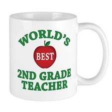 2nd Grade Teacher Mug